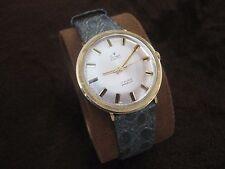 Vintage Men's Wristwatch STOWA 17 Jewels Incabloc Solid Gold 14K Swiss Made