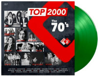 Various Artists Top 2000 The 70's Double LP Coloured Green Vinyl Numbered New