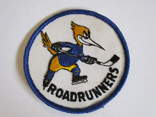 vintage 1970's Phoenix Arizona Roadrunners Hockey Team Souvenir Patch