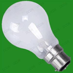 10x 100W Tungsten Filament Lamp Rough Service Pearl Light Bulbs BC B22 Globes