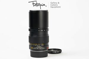 Leica Tele-Elmar-M 135mm F4 - v1 / Built-in-hood / 11861 with E46 UVa(91-93%new)