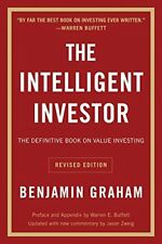 The Intelligent Investor: Revised Edition by Benjamin Graham Paperback Book