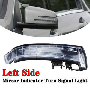 Left Driver Side Mirror Indicator Turn Signal Light For Mercedes Benz W204 W212