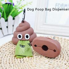 Dog Poop Bag Dispenser Eco-friendly Pet Waste Bag Holder Outdoor Dog Garbage _ZT