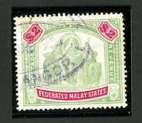 Malaya Stamps # 15 XF Used Scott Value $210.00
