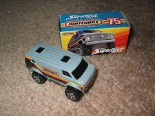 Matchbox 4x4 Chevy Van - Pick your vehicle - Loose