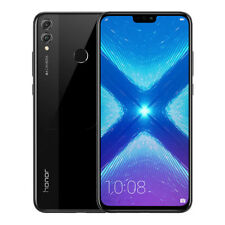 "New Huawei Honor 8X Black 6.5"" 64GB Dual Sim 4G LTE Android 8.0 Sim Free Unlocke"