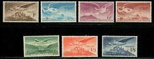 Ireland 1948-65 Airmail set, Sc# C1-C7 - MNH