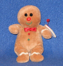 TY SWEETSY the GINGERBREAD MAN JINGLE BEANIE BABY - MINT with MINT TAGS