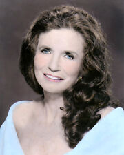 """JUNE CARTER CASH COUNTRY WESTERN SINGER & LEGEND 8x10"""" HAND COLOR TINTED PHOTO"""