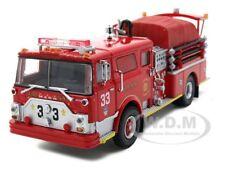 MACK CF PUMPER FDNY FIRE ENGINE 33 1/64 DIECAST MODEL BY CODE 3 12582