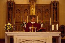 584095 Roman Catholic Mass A4 Photo Print