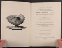 Antique Pottery & Ceramics -American Artist James Tyler 1917 Collection Catalog