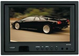 """Boss Audio Systems BV7HR 7"""" Headrest Widescreen TFT Monitor With Wireless Remote"""