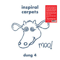 """Inspiral Carpets : Dung 4 VINYL Expanded  12"""" Album (2018) ***NEW*** Great Value"""