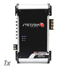 Stetsom Amplifier EX1200 EQ - 1400 Watts RMS 2 ohms Digital Amp Built-In EQ 1K