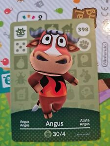 Animal Crossing Amiibo Angus 398