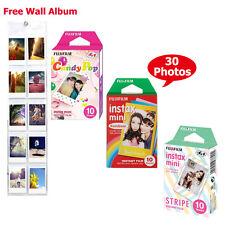 Fujifilm Instax Mini Rainbow, Stripe, Candy Pop Film Color Photo - Fuji 8 50 90