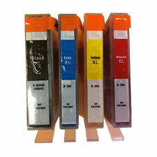 4 Chipped Ink Cartridges for HP 364XL Photosmart 5510 5515 5520 5524 6510