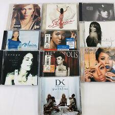 Pop Female Singer CD Lot - Janet Keyshia J Lo Selena Monica Brandi Janelle Monae