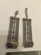 44 Swatch Skin Strap Stainless Steel Crystal