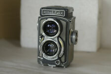 ROLLEI/ROLLEIFLEX BABY GREY 4X4 TLR CAMERA+CASE.VERY NICE!
