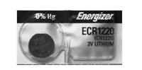 1 PIECE Fresh ENERGIZER CR1220 BATTERY 3V LITHIUM CR 1220 DL1220 BR1220 EXP 2024