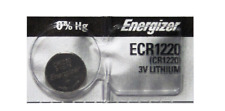 1 PIECE Fresh ENERGIZER CR1220 BATTERY 3V LITHIUM CR 1220 DL1220 BR1220 EXP 2024