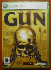 Gun, Neversoft, Activision, Xbox 360, Pal-Spain ¡New and Sealed Brand New