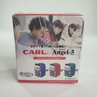 Carl The Original Quality Since 1960 Angel 5 Red World Famous Pencil Sharpener