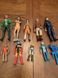 action figure lot mixed 9 Figures