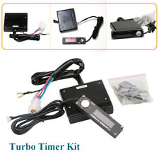 Auto Black Turbo Timer Control Kit Red LED Digital Display For Universal 12V Car