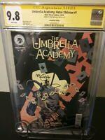 The Umbrella Academy 1: Hotel Oblivion Conv Ed CGC SS Mike Mignola 9.8