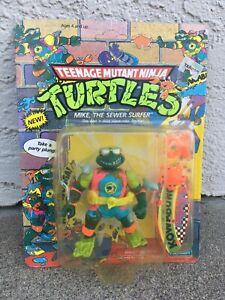 Teenage Mutant Ninja Turtles~Mike The Sewer Surfer~Playmates~1990~TMNT