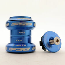 "mr-ride FSA Orbit MX 34mm Threadless Headset with top cap 1-1/8"" Blue"