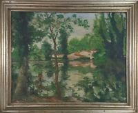 RURAL LANDSCAPE. OIL ON CANVAS. SIGNED JOAN COSTA. XXTH CENTURY.