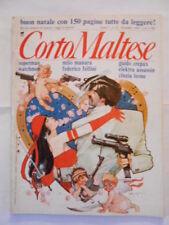CORTO MALTESE n.12 dicembre 1989 + inserto speciale SUPERMAN e WATCHMEN