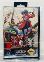 Hook (Sega Genesis, 1992) Rare Tested & Works Authentic