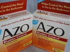 AZO Bladder Control Dietary Supplement  54caps &72caps (bundle) exp 8-2018