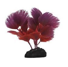 Penn Plax Fan Palm Betta Fish Aquarium Ornament PURPLE/RED - PPBT16