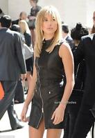 Diesel Black Gold leather Dress UK6-8   RRP790GBP New Auth