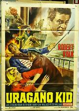 URAGANO KID Manifesto Poster Affiche HOPPER SAILOR SEA BOAT ROBERT RYAN VINTAGE