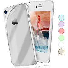 Silicone Case for Apple IPHONE 4S/IPHONE 4 Protective Transparent Back Cover