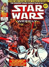 STAR WARS WEEKLY, COMICS COLLECTION. ON DISC with viewing Software.