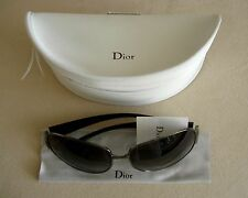 CHRISTIAN DIOR LADIES SUNGLASSES CCAN6 64-15 125 BLACK FRAME MADE IN ITALY
