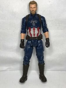 "Marvel Infinity War Titan Hero Series Captain America 12"" Ages 4+ # C-3632B"