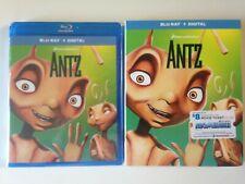 Antz (Blu-ray Disc, 2018, Includes Digital Copy)(New) w/slipcover