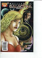 (CSD0952) Battlestar Galactica Origins #1 (Dynamite Comics 2007) VF/NM