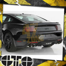 For 2015-2020 Ford Mustang Blackout Taillight Covers Carbon Fiber Look