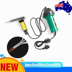 1000W AC Hot Air Torch Plastic Welder Welding Heat Gun Pistol Kit 220V AU